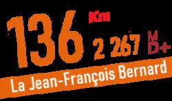 Descriptif et profil du parcours 136 km