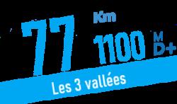 Descriptif et profil du parcours 77 km