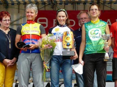 podium 142 km scratch Feminine